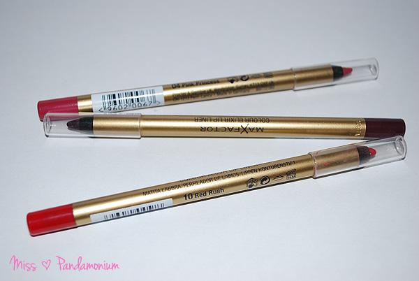 Beauty // Max Factor Lip Liner Colour Elixir