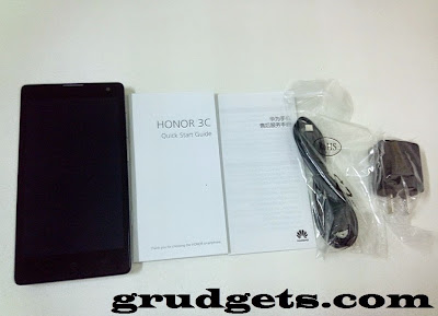 free accessories with Huawei Honor 3C