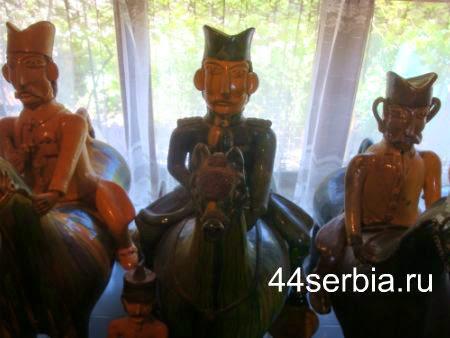 керамические воины
