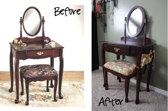 craft envy bedroom vanity redo