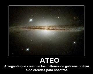 ateos. el universo