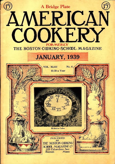 American Cookery | Boston Cooking School Magazine | January 1939