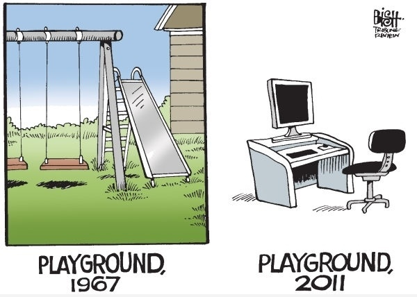 Playground : Then & Now
