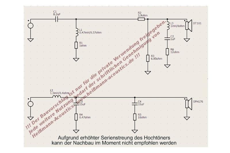 bausatz samira mit monacor sph 176 und dt 101sk. Black Bedroom Furniture Sets. Home Design Ideas