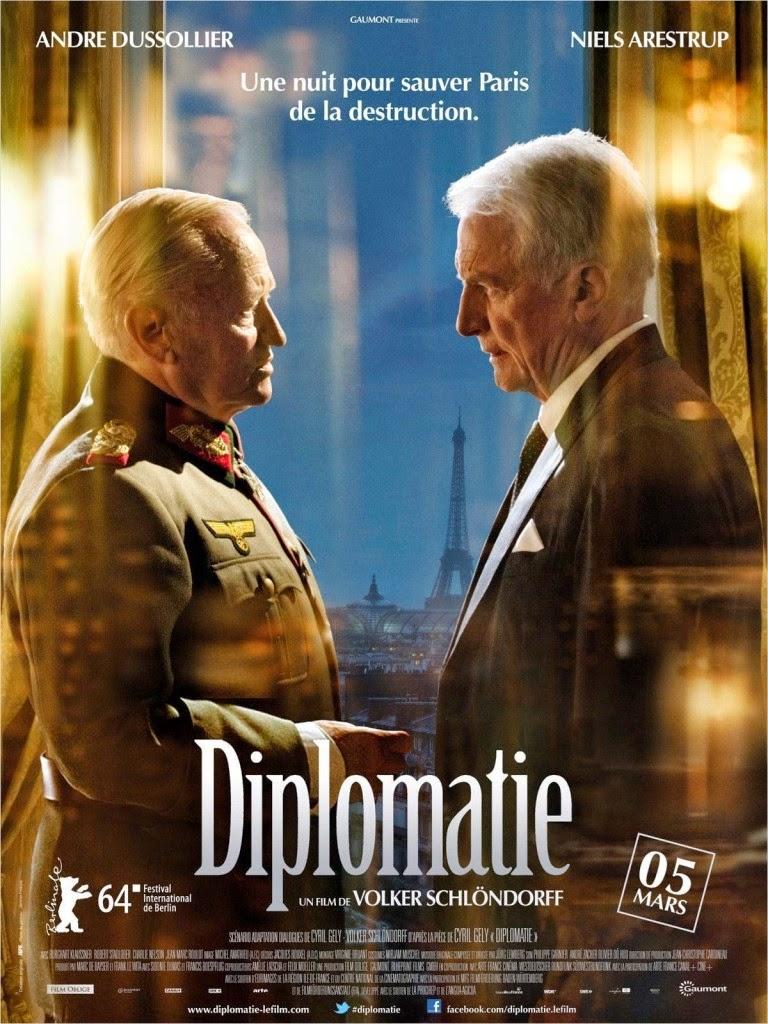 Η Νύχτα Πριν Πέσει το Παρίσι (Diplomatie) Poster