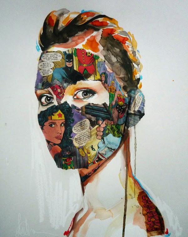 *另類的方式閱讀超級英雄:SANDRA CHEVRIER 畫出女性的英雄情節 12