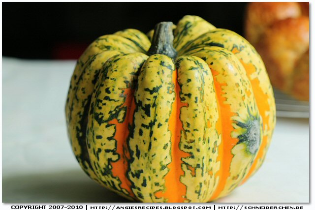 Baked Carnival Squash with Smoked Bacon and Rosemary