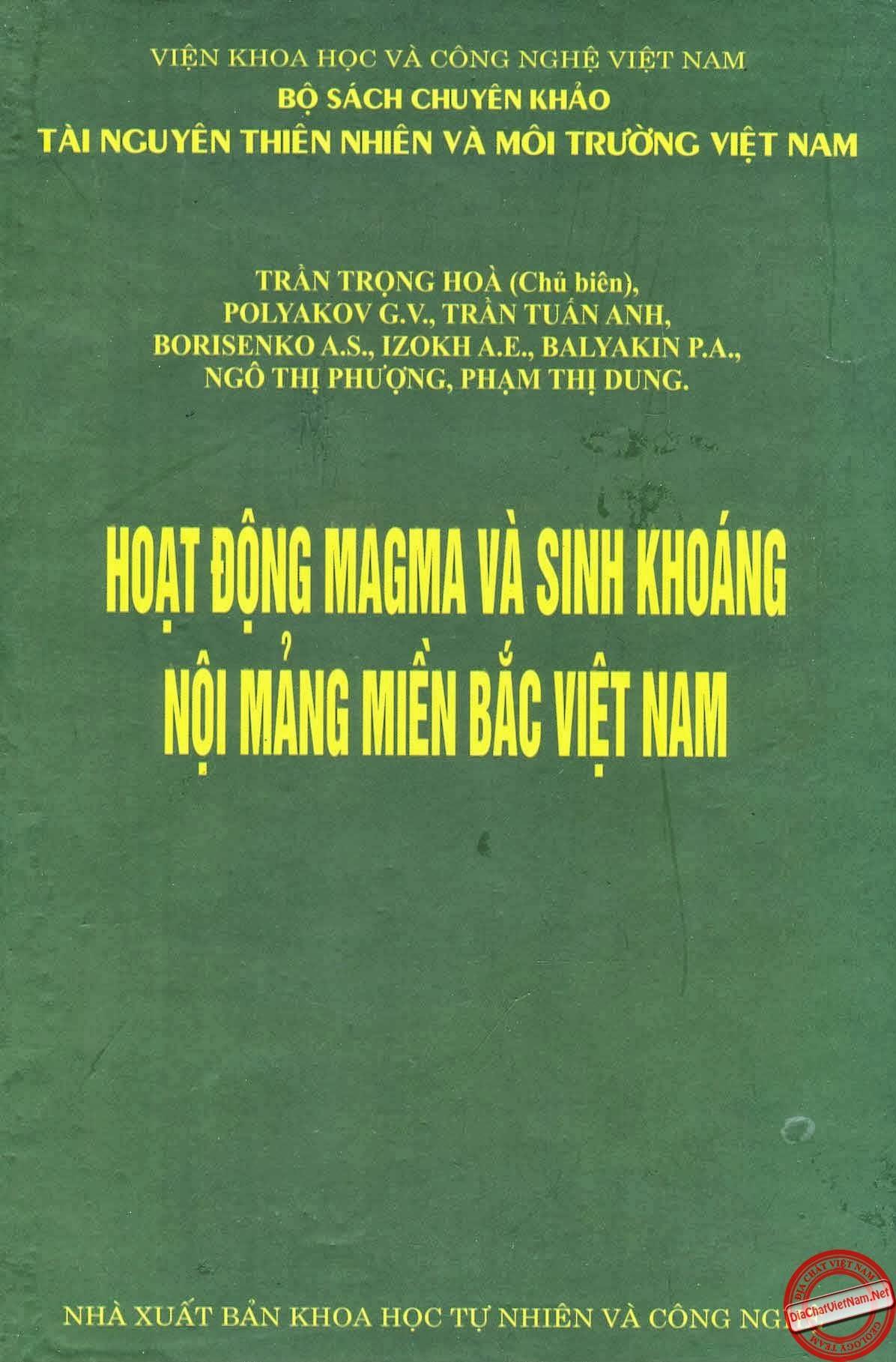 Hoạt động Magma và sinh khoáng nội mảng miền bắc Việt Nam