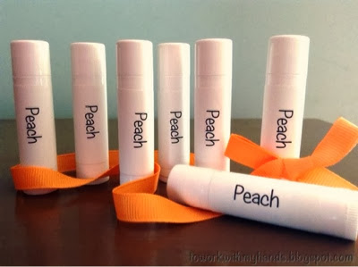 I love lip balm! I am forever swiping it on, and when I run out, I make the time to create a few more tubes to stash away.