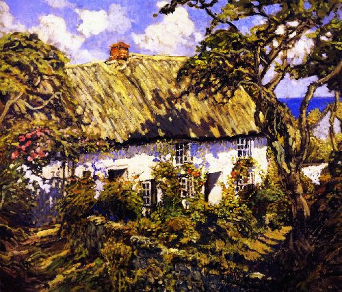 Walter Elmer Schofield - A Cornish Home