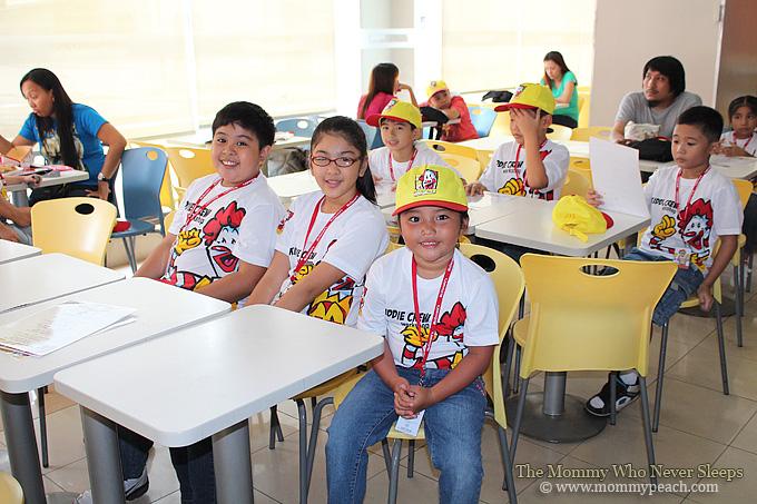 Ykaie's Experience at the McDonald's Kiddie Crew Workshop