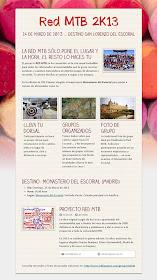 Red MTB 2k13... Destino El Escorial -Pincha en la imagen para verla ampliada