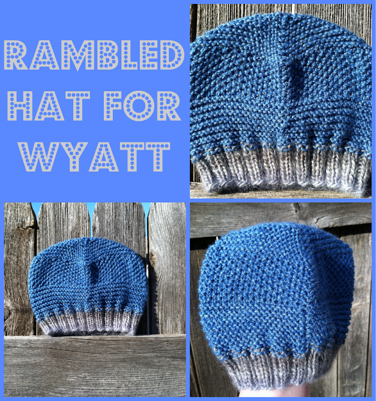 Rambled Hat for Wyatt