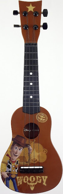 Disney Pixar toy story 3 Plastic soprano ukulele