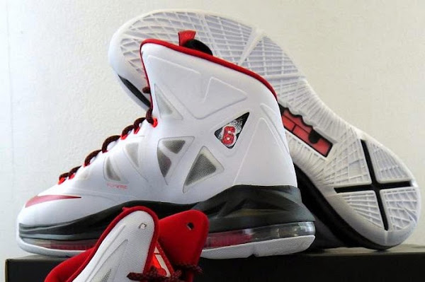 Official Release Date for Nike LeBron X Miami Heat Home Edition
