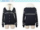 hitam, nounai kakunei girl, fleece, Hoodie, hoodie korea murah, korea, murah, warna, Pre Order, fashion korea, hoodie lucu