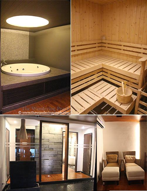 f1 hotel sauna