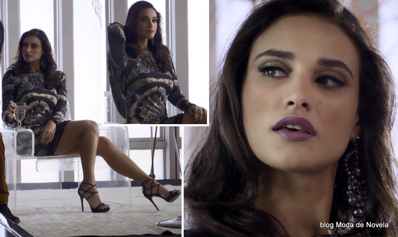 moda da novela Geração Brasil - look da Maria Vergara dia 24 de maio