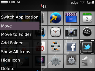 Simple Clean Theme with BlackBerry 10 Icons Preview 3