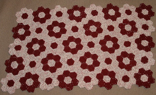 Nagymama virágoskertje patchwork, Grandma's garden patchwork