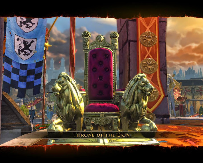 Throne of the Lion