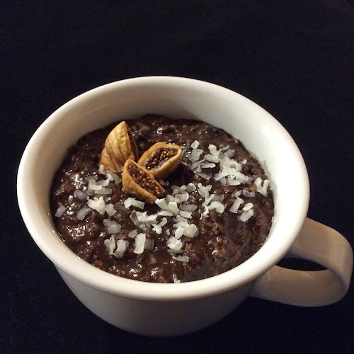 Owsianka kakaowa, śniadanie, kakao, płatki owsiane