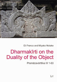 [Franco/Notake: Dharmakīrti on the Duality of the Object, 2014]