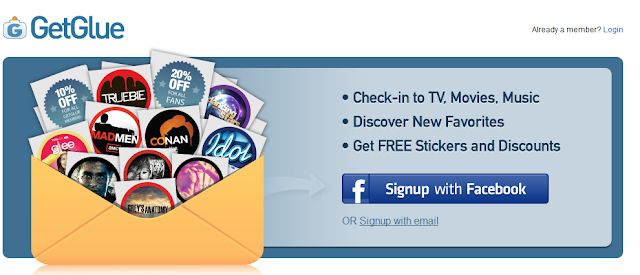 GetGlue Social TV application