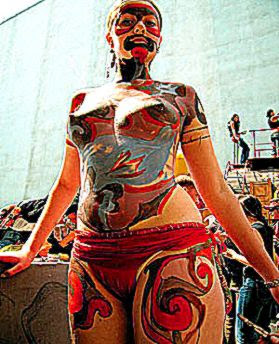 Body Art Special Body Art Festival