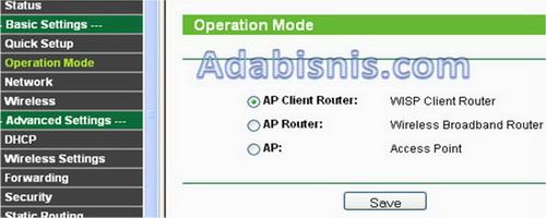 Cara Setting TL-WA5210G sebagai AP Client