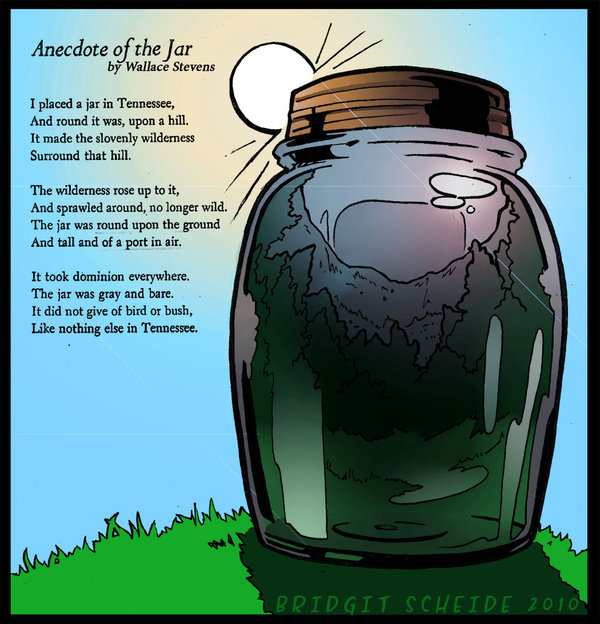 on anecdote of the jar