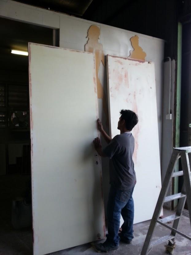 office paint spraying