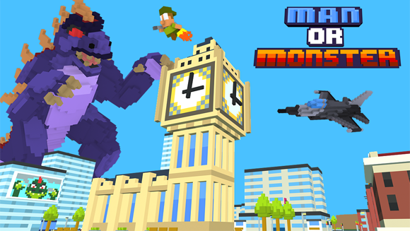 Man or Monster Miniclip