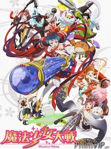 Ma Pháp Thiếu Nữ Đại Chiến - Mahou Shoujo Taisen poster