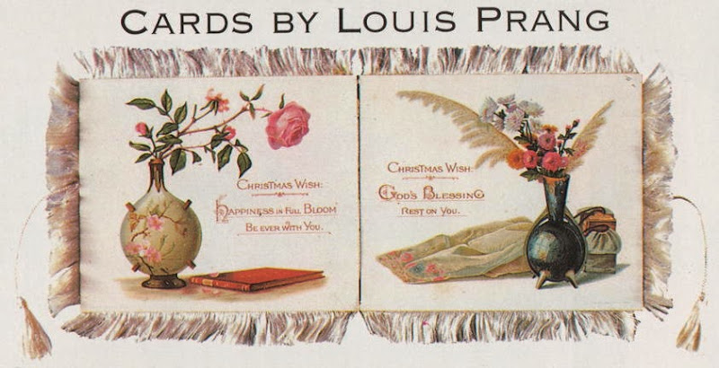 Louis Prang Christmas Cards