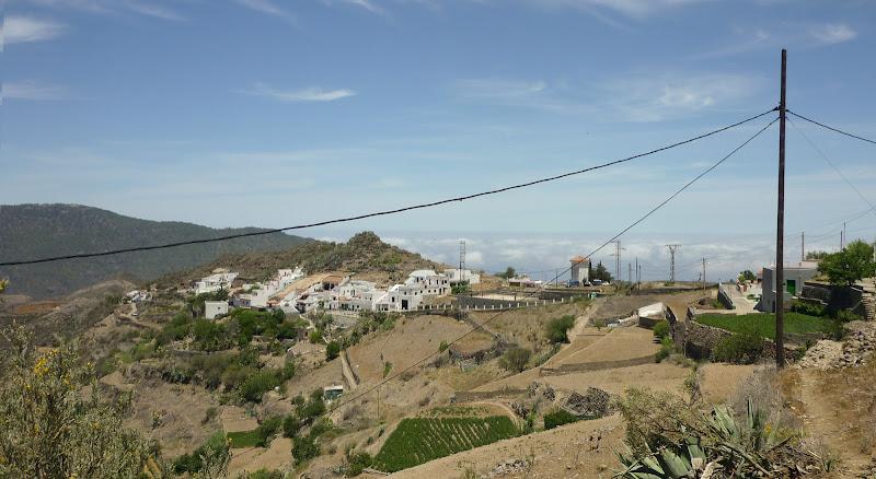 kleines Dorf in den Bergen Gran Canarias