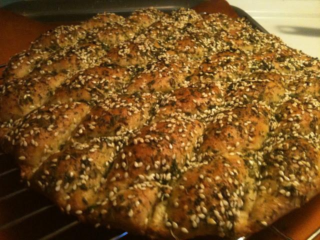 Middle Eastern Manakeesh Bil Za'atar (minus Za'atar)