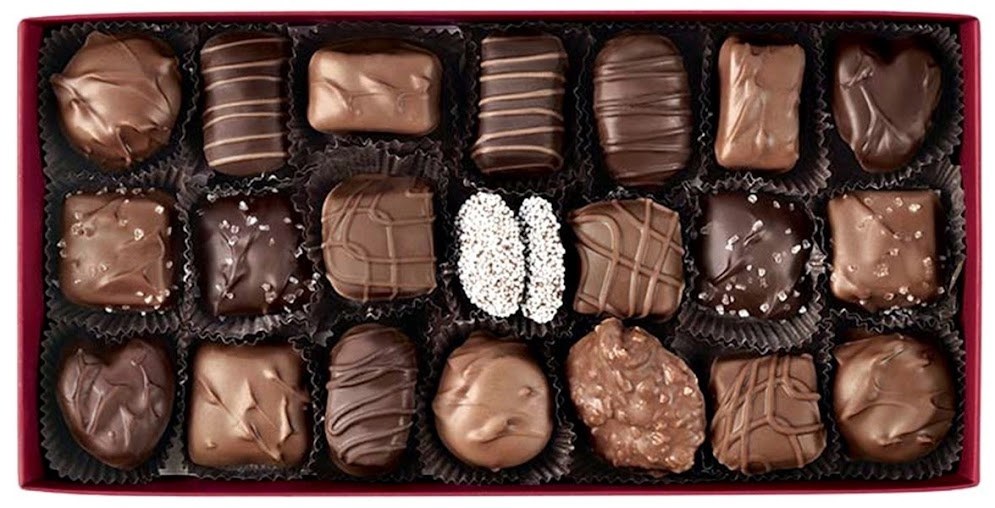 1lb Hickory Farms Signature Chocolate Collection
