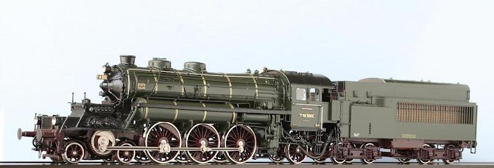 Modeli parnih lokomotiva DRG 00301H-Lv