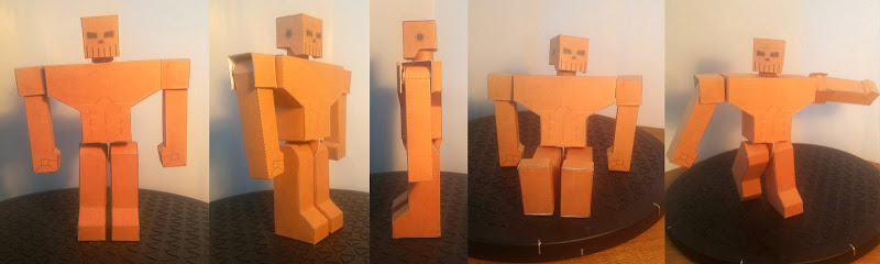 BroadShoulder Paper Toy