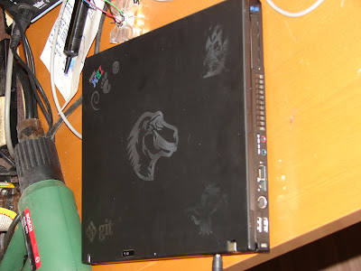 Laser Etching a ThinkPad T41 - The Hyperpessimist