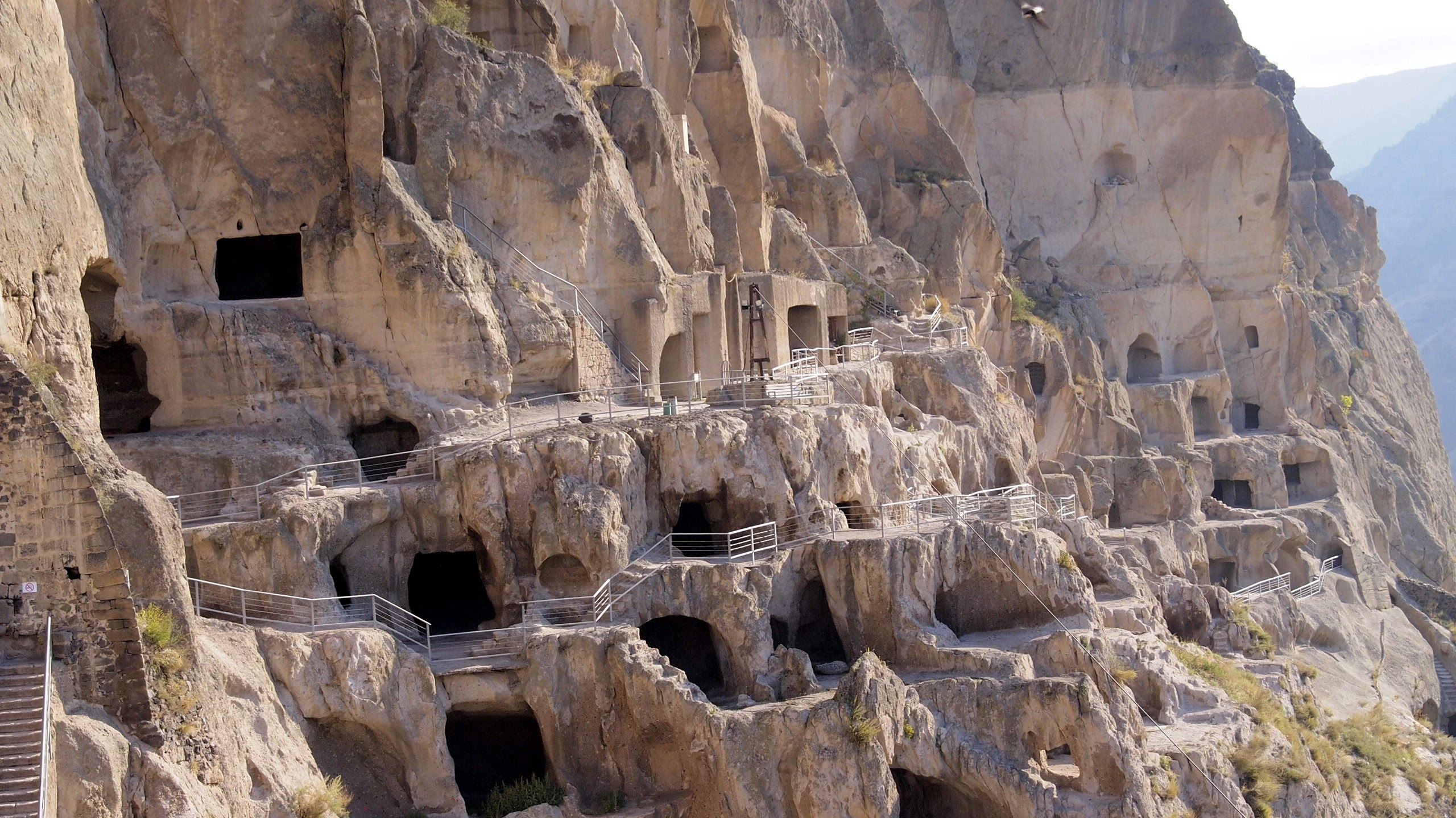 Vardzia, the monastery complex of Georgia