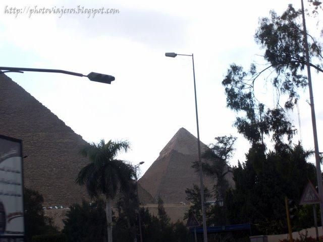 Hacia las Pirámides
