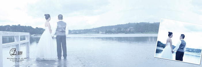 Hồ Xuân Hương địa điểm thích hợp chụp hình cưới ngoại cảnh