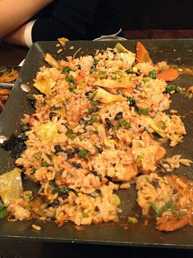 Fried Rice at Moo Kyo Dong Nak Ji