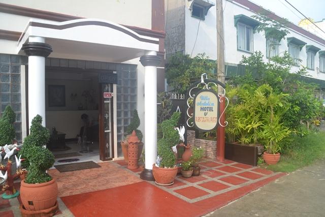 Villa Antolin HOTEL & Restaurant - ホテルの入口
