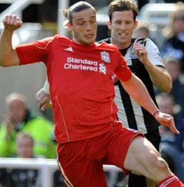 Andy Carroll, Newcastle - Liverpool
