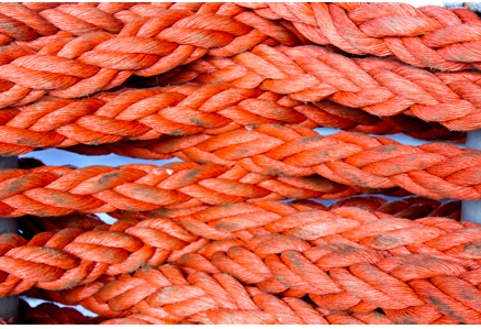 rope on SAS Drakensburg
