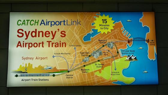 Como llegar al centro desde el aeropuerto en Sydney