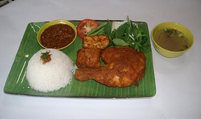 Nasi Ayam Penyet Herba Johor